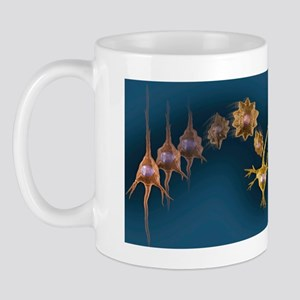 Creating new neural pathways, artwork Mug